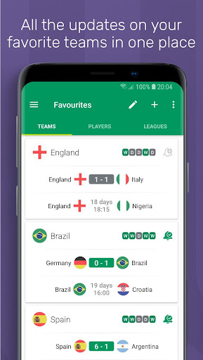 FotMob World Cup 2018  screenshots 5