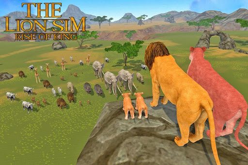 The Lion Simulator: Animal Family Game 1.0 screenshots 1