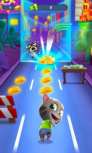Talking Tom Gold Run 3D Game screenshot 1