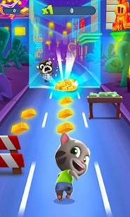 play Talking Tom Gold Run 3D Game on pc & mac
