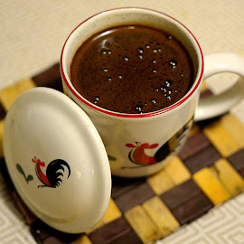 Kopi Tubruk by Rudyanto A. Wibisono - Food & Drink Alcohol & Drinks ( #kopitubruk #kopipahit #blackcoffee #capayamjago )