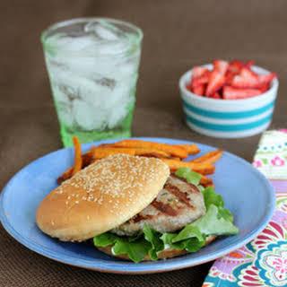 Favorite Turkey Burger.