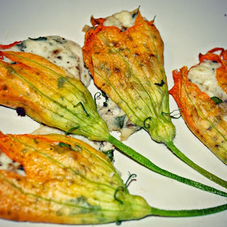 Stuffed Squash Blossoms.