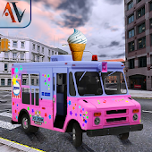 Ice Cream Delivery Truck