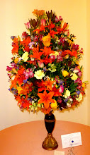 Photo: Display in the Ambato Garden Club contest