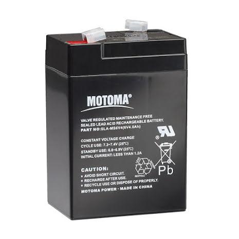 6V 4Ah batteri S10, S16, S20