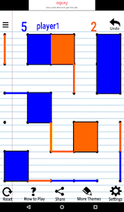 Hard Level Dots and Boxes (Connect The Dots) 1