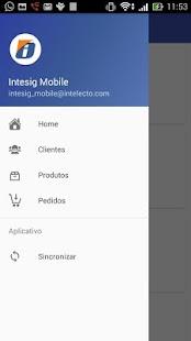 Intesig Mobile - náhled