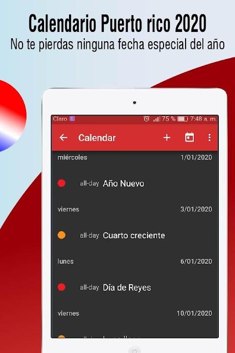 Download Calendario Puerto Rico 2020 Dias Feriados 2020 Free For Android Calendario Puerto Rico 2020 Dias Feriados 2020 Apk Download Steprimo Com