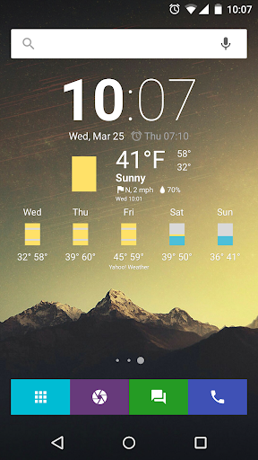 Chronus Weather Icons Minimal