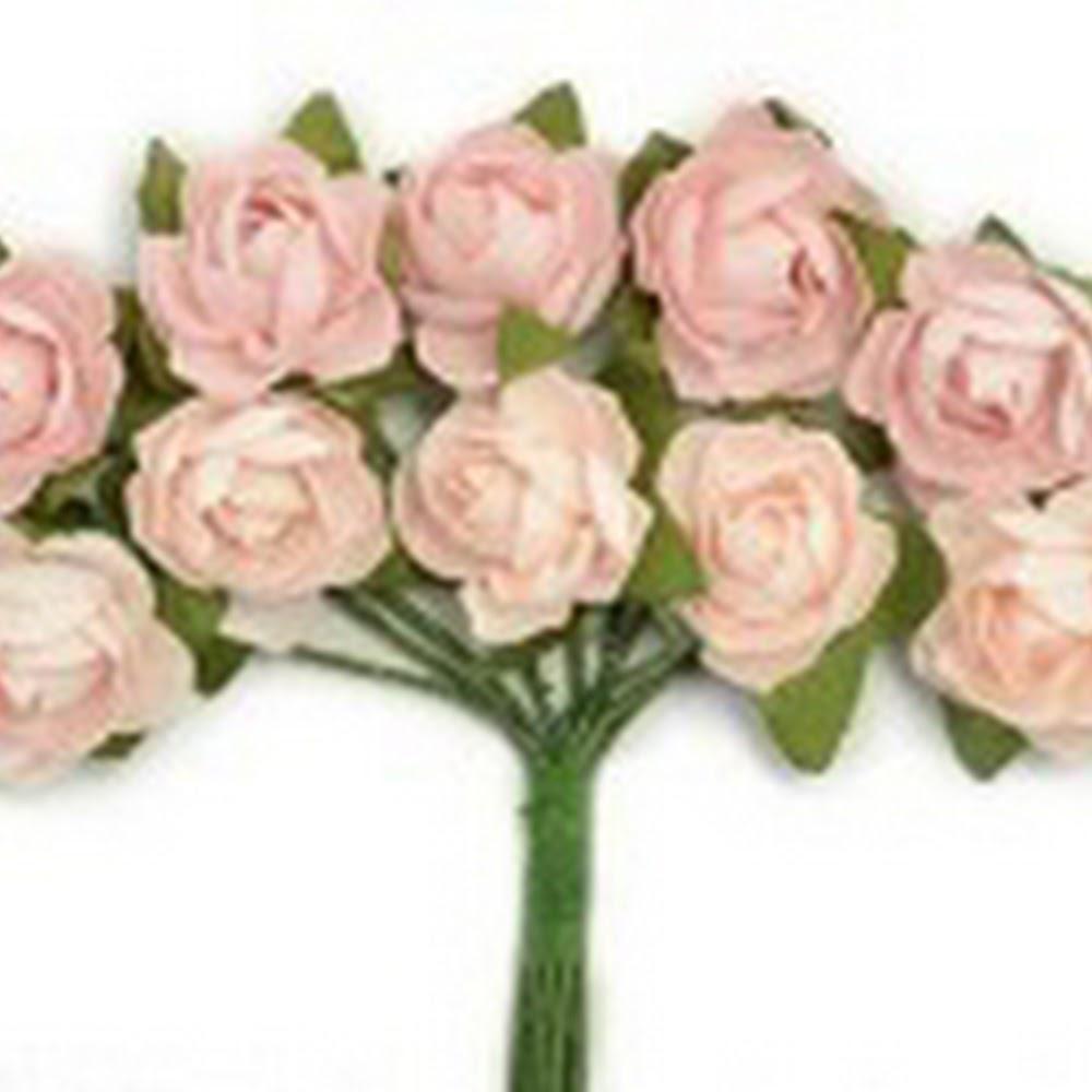 KC-Mini Paper Blooms(Fairy Floss)