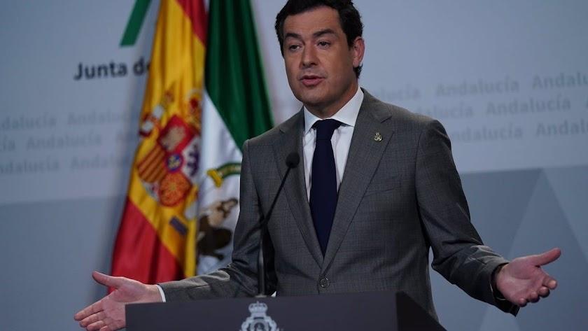Juanma Moreno anuncia las nuevas medidas vigentes tras la Navidad.
