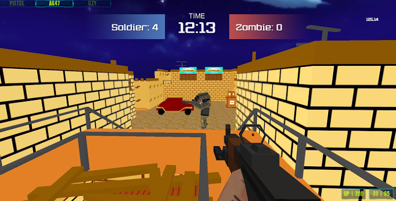 Zombie Block Strike - screenshot