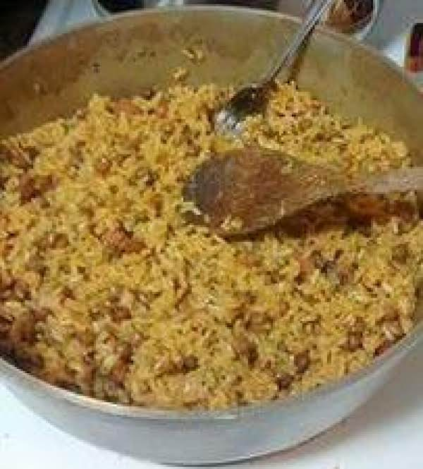 Arroz Con Gandules (rice With Pigeon Peas) Recipe