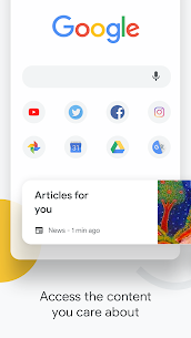Download Google Chrome Apk : Fast & Secure Browser For Android Mobile 2020, Version: 83.0.4103.106 Updated : Jun 15, 2020.