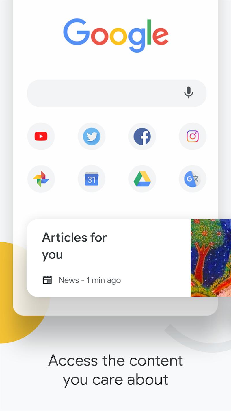 Google Chrome: Fast & Secure Screenshot 0