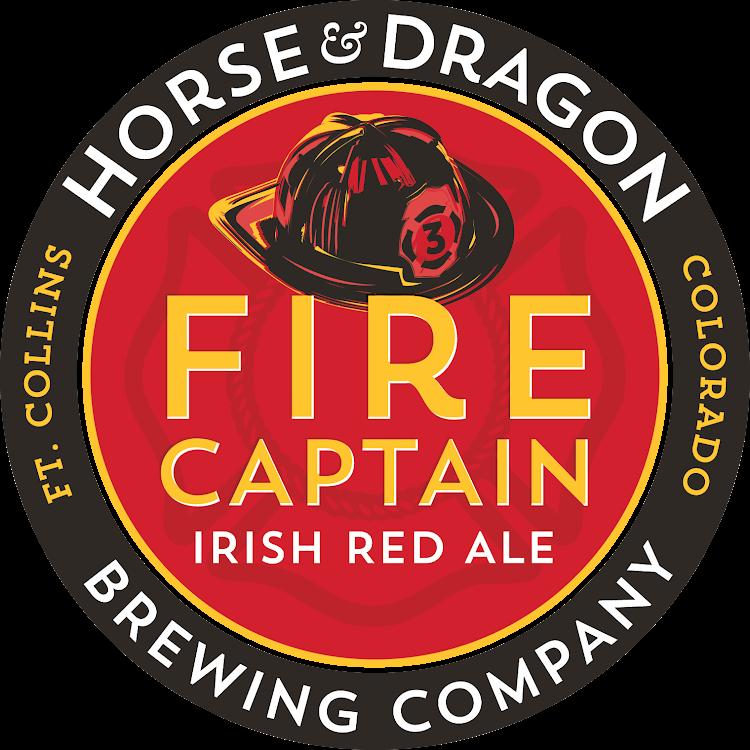 Logo of Horse & Dragon Fire Captain Irish Red Ale