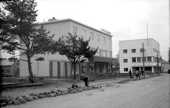 Photo: Voionmaankadun ravintolat vanhassa asussaan (kaupunginosa VI).