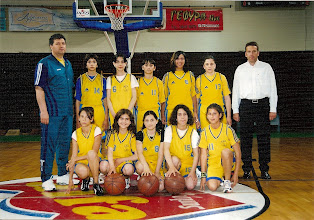 Photo: 2003-04 1ο Τουρνουά Μπάσκετ Α.Ε. Κοζάνης, Κορίτσια