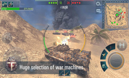 Tank Force: Real Tank War Online for PC
