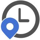 Change Timezone (Time Shift) Icon