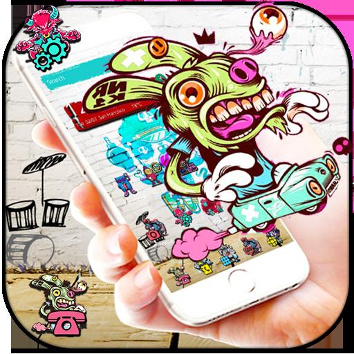 Fancy Graffiti Theme Wallpaper Applications Sur Google Play