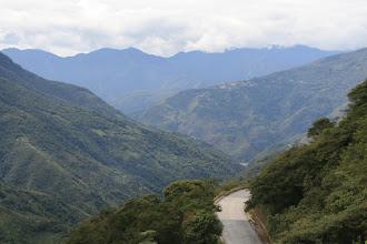 Photo: Blick auf Coroico