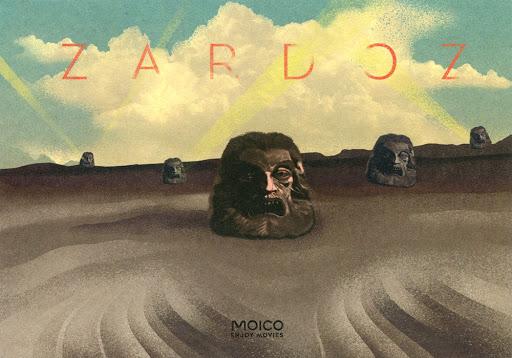 Przód ulotki filmu 'Zardoz'