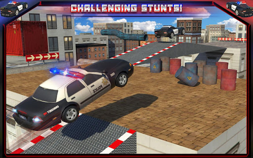 Police Car Rooftop Training screenshot 8