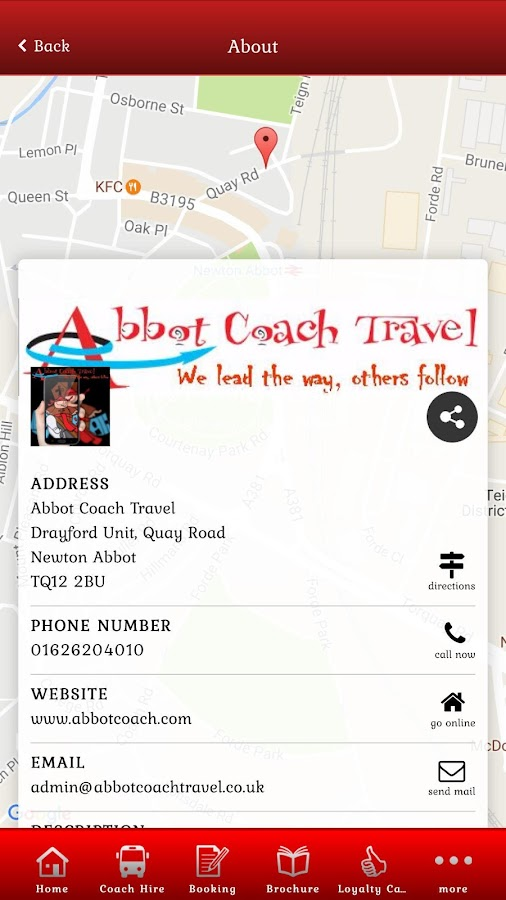 Abbot Coach Travel- screenshot