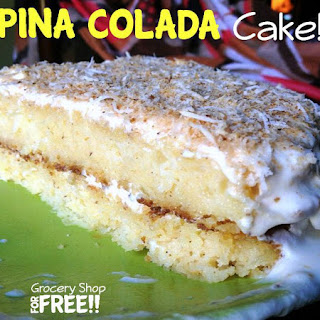 Pina Colada Cake!