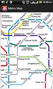 Metro route map pdf