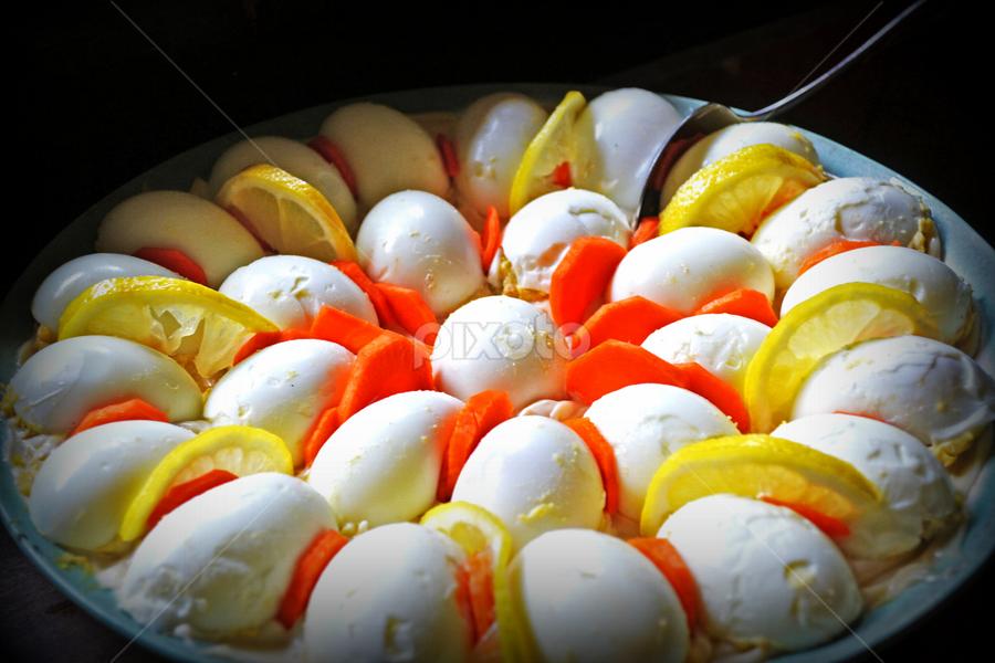 Lemon Eggs by Yua Mayangsari - Food & Drink Plated Food