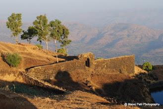 Photo: Fortification on Padmavati Talav