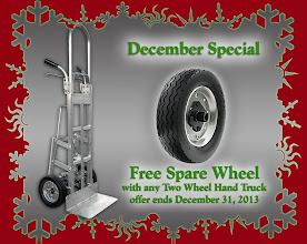 Photo: Free Spare Wheel with Aluminum Hand Truck purchase