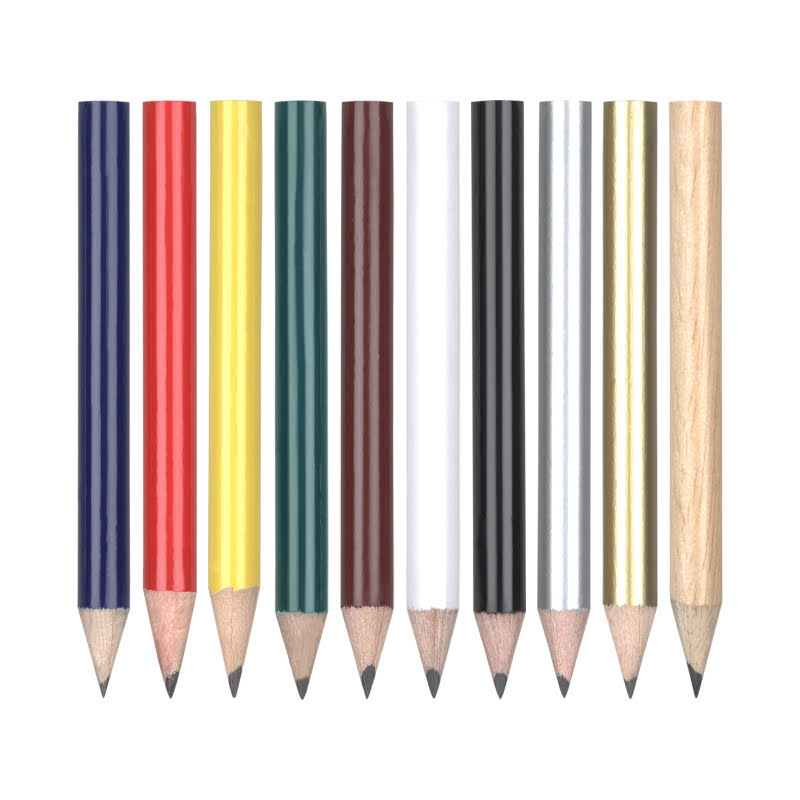 Half Size Natural Wood Pencil