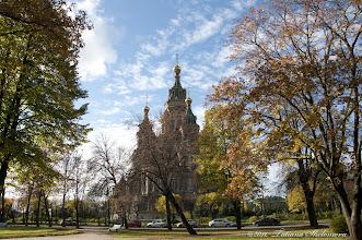 Photo: Храм Петра и Павла в Петродворце