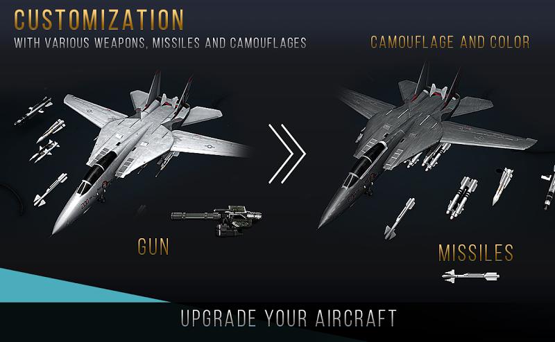 Modern Warplanes: Wargame Shooter PvP Jet Warfare Screenshot 7