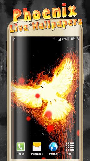 Phoenix Live Wallpaper  screenshots 9