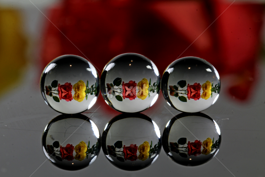 by Dipali S - Artistic Objects Other Objects ( reflection, balls )