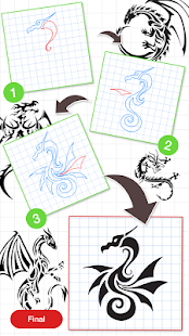 How To Draw Dragon – Apps bei Google Play