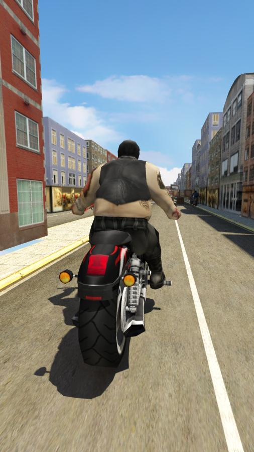 Street Bikers 3D- screenshot