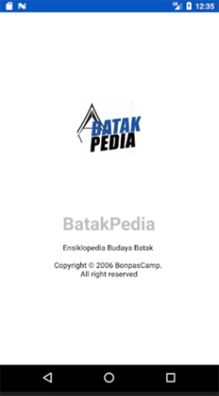BatakPedia- screenshot
