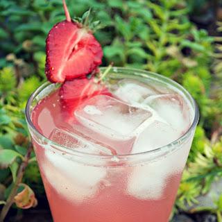 Strawberry-Cucumber Agua Fresca.