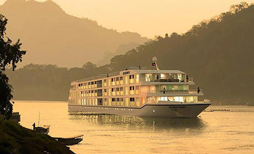 scenic-spirit-mekong-river - The new luxury river ship Scenic Spirit will sail on voyages along the Mekong River between Cambodia and Vietnam.