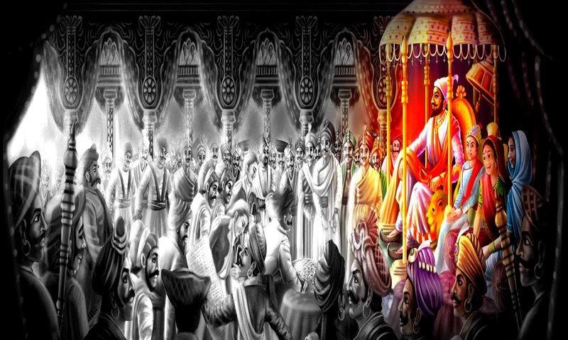 Chhatrapati Shivaji Maharaj Rajyabhishek Wallpaper Sh