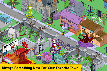 Simpsons Tapped Out MOD APK v4.39.1 (Free Purchases,Money) 4
