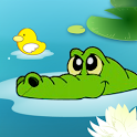 Beat crocodile icon