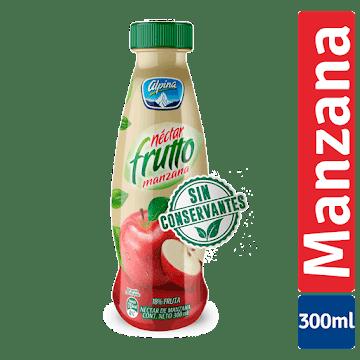 NÉCTAR ALPINA FRUTTO   FRUTA 18% MANZANA X300ML.