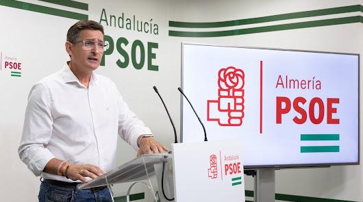 José Luis Sánchez Teruel, secretario general del PSOE de Almería.